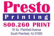 Presto Printing logo